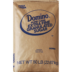 Domino® Pure Cane Granulated Sugar - 50 lb. Bag