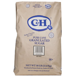 C&H® Pure Cane Granulated Sugar - 50 lb. Bag