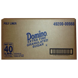 Domino® Pure Cane Granulated Sugar - 40 lb. Box