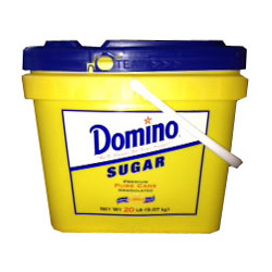 Domino® Pure Cane Granulated Sugar - 20 lb. Tub