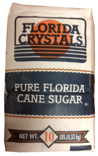 Florida Crystals® Pure Cane Granulated Sugar - 10 lb. Bale
