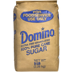 Domino® Pure Cane Granulated Sugar - 5 lb. Bale