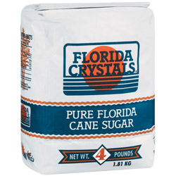 Florida Crystals® Pure Cane Granulated Sugar - 4 lb. Bale