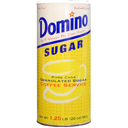 Domino® Pure Cane Sugar - 20 oz. Canister