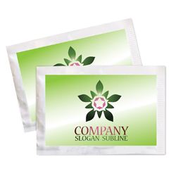 "Custom Brand Label Zero-Calorie ""Green"", Sweetener w/Stevia Leaf Extract: Single Serve Packets, 2g/1,000ct"