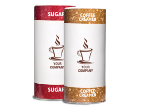 Custom Branded Label Granulated Sugar - 20 oz. Canisters