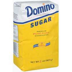 Domino® Pure Cane Granulated Sugar - 2 lb. Poly