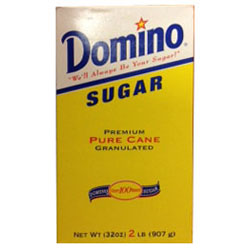 Domino® Pure Cane Granulated Sugar - 2 lb. Carton