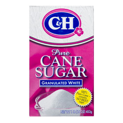 C&H® Pure Cane Granulated Sugar - 1 lb. Carton