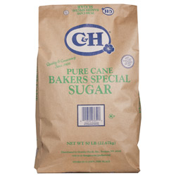 C&H® Pure Cane Bakers Special Sugar - 50 lb. Bag