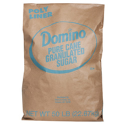 Domino® Pure Cane Fruit Granulated - 50 lb. Bag
