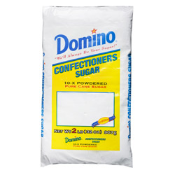 Domino® Pure Cane Powdered 10X - 2 lb. Poly