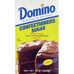 Domino® Pure Cane Powdered 10X - 1 lb. Carton