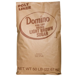 Domino® Pure Cane Light Brown Sugar - 50 lb. Bag
