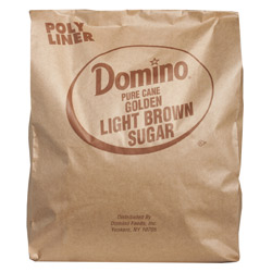 Domino® Pure Cane Light Brown Sugar - 25 lb. Bag