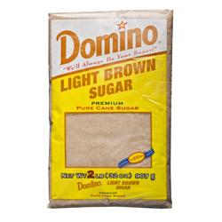 Domino® Pure Cane Light Brown Sugar - 2 lb. Poly