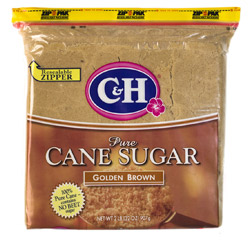 C&H® Pure Cane Golden Brown Sugar - 2 lb. Poly