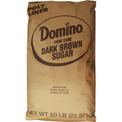 Domino® Pure Cane Dark Brown Sugar - 50 lb. Bag