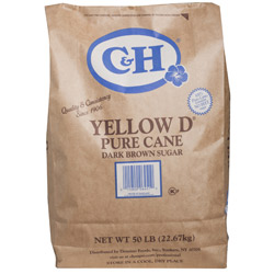 C&H® Dark Brown Sugar - 50 lb. Bag