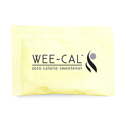 "Wee-Cal™ ""Yellow"" (Sucralose) - Single Serve 1 gram Packets, 2,000 Count"