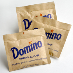 Domino®  Light Brown Sugar - Single Serve 13 gram Packets, 125 Count