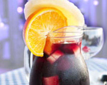 Sangria using Organic Agave Nectar