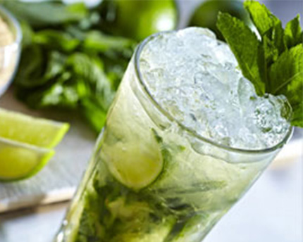 Simple Syrup Mojito