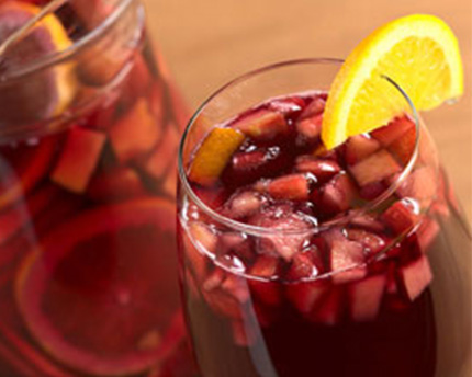 Simple Syrup Sangria