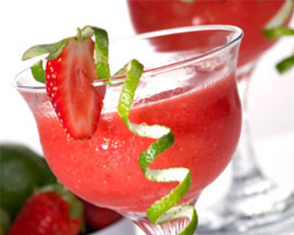 Simple Syrup Strawberry Daiquiri