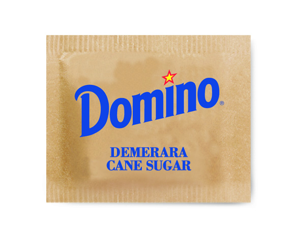 Domino® Demerara Cane Sugar - Single Serve .6 oz. Packets, 1,200 Count