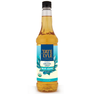 Tate+Lyle® Gourmet Syrup  Blue Agave Organic Syrup  25.4 oz. Plastic Bottle