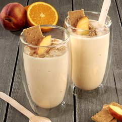 Peach Cheesecake Smoothie
