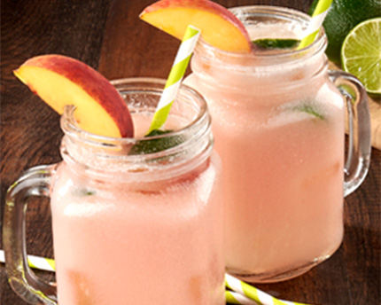 Coconut Peach Limeade